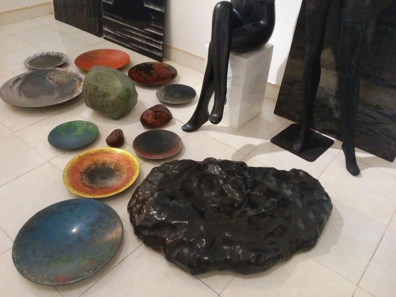 Nguyễn Xuân Lục, Nguyen Xuan Luc, sơn mài, sơn ta, Natural lacquer, Art, painting, exhibition, triển lãm